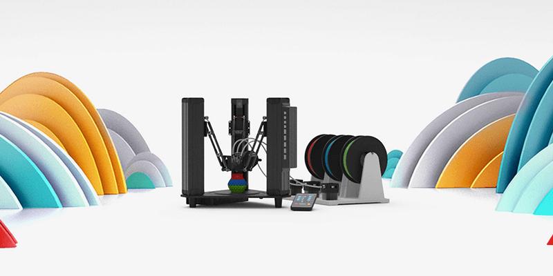 DOBOT MOOZ 3 - Color Mixing 3D Printer